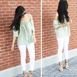 Rose . - Gamiss Shirt, Zara Jeans, Townshoes Heels - The Green OTS