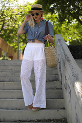 Doll Actitud Sabrina -  - Embroidered pants