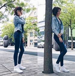 Lora Leo -  - Denim on Denim