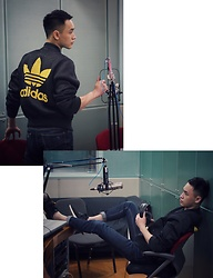 Chris Su - Adidas Oversize Coat - Studio