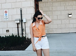 Leandra G - Zara Shorts - Shorts in September