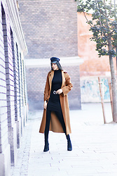 Kristina Zavarski - Zara Coat, H&M Dress, Mango Boots - Favorite fall look