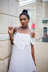 Monet Rhoden - Sheinside Dress - Sultry