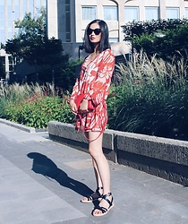 Sun Zibar - Christian Dior Sunglasses, Mango Dress, Céline Trio Bag, Isabel Marant Sandals - Goodbye Summer