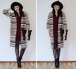 Kary Read♥ - Hat, Cardigan, Dress - Кот в шляпе♥