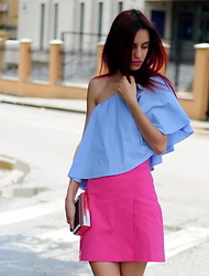 I dare you To be fashion -  - Blue top