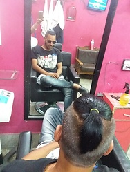 Rajeev Riwala -  - New look top knot