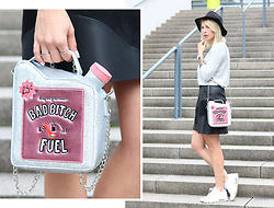 Lavie Deboite -  - Fun Bag and Leatherskirt