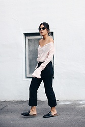 Elif Filyos - Bxtwxxn Open Shoulder Top, Citizens Of Humanity Cora Jeans, Gucci Princetown Loafers - Shoulder to Shoulder