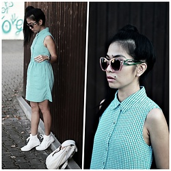 M U T Z I I - Vero Moda Printed, Converse White Sneakers - Happiness is health and a short memory!