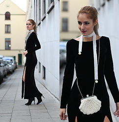 Ruxandra Ioana - Zaful Dress, Zaful Necklace, Lightinthebox Purse - Say it