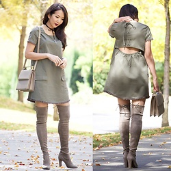 Stylemylinh -  - Shift Dress