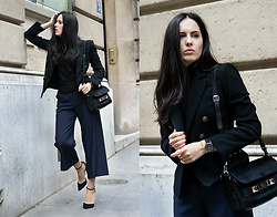 The Day Dreamings - Zara Pants, Proenza Schouler Bag, Mango Blazer, Zara Heels, H&M Top - In a Parisian way