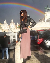 Karolina Terchiieva - Chanel Bag, Zara Boots - Magical Rome
