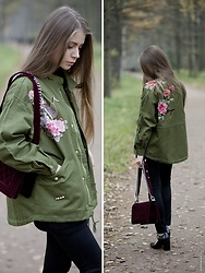 Anna Vershinina - Sheinside Jacket - Feminine Military