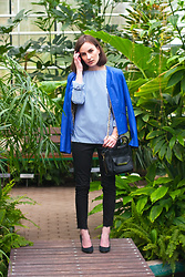 Anna Puzova - Redial Jacket, Cndirect Blouse, H&M Jeans, Aldo Bag, Aldo Heels, Whistle + Bango Customized Bangle - Bringing Sexy Back