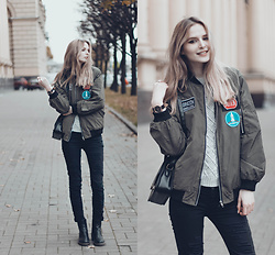 Mary Volkova - Coat, Watches, Ring - You Can Be Happy