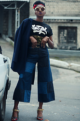 Melody Jacob - Drdenim Jeans - FLARE LEGS : REWORKED JEANS WINNING STREET STYLE