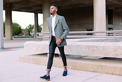Tony Logan - Polo Ralph Lauren Herringbone Blazer, Nudie Jeans Organic Nudies, Guidomaggi Loafer, Life After Denim Button Down - Dress for something or fall for anything