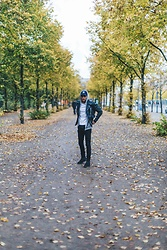 Joey London - Diesel Biker, Cheap Monday Jeans, Allsaints Boots - Berlin