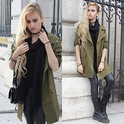 Irene Aspas - Wholesale7 Coat - Army Green
