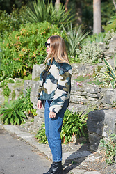 Lauren Wilson - Marks & Spencer Coat, Topshop Jeans, Topshop Boots - KEEPING UP WITH THE CAMO
