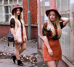 Emma Reay -  - The Faux Fur Gilet