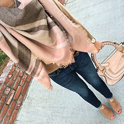 Stylish Petite -  - Scarf, Jeans and Chloe