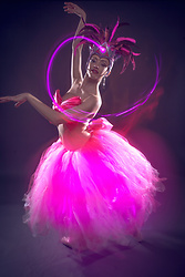 Ronnie Brust -  - Full lenght LED tutu, bow-top and headpeice