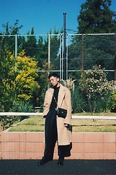 Valeri Novalianto - Dries Van Noten Coat, Chanel Bag, Royal Republiq Dress Shoes - Windy summer