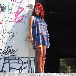Redhead Illusion by Menia -  - Dress in suchAway,WhereTheImaginationSeesMoreThanTheEyes...!