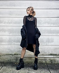 Chiemi Ito - Unif Dress, Unif Boots, Dynasti Choker - Drama Queen