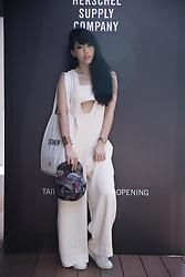 MillyQ Chung - Opening Ceremony Talene U Neck Jumpsuit, Isabelle Michel Paris Store Cuff, Diemme Sneakers - Keep Cool, Look Cool.