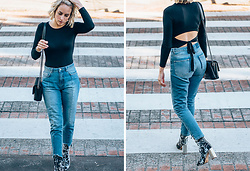 Lian G. - Missguided Top, Missguided Jeans, Missguided Shoes, Chanel Bag - Open Back