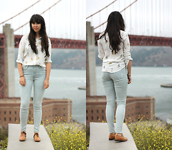 Lauren Evans - H&M Shirt, Levi's® Jeans, Shoe Embassy Shoes - Golden Gate Bridge