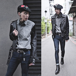 IVAN Chang - Tastemaker 達新美 Jacket, Wrongpeople Shirt, Asos Jeans, Asos Boots - 181116 TODAY STYLE