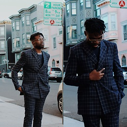 Vernon M. - Topman Double Breasted Suit - San Fran on a DIME