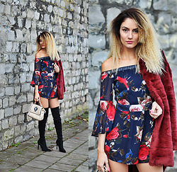 Ruxandra Ioana - Rosegal Romper, Kendal + Kylie Boots - I just wanna love u