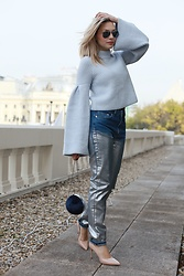 Sonja Kovac - H&M Sweater, H&M Jeans, H&M Bag, Schutz Pumps - CHANEL EVENT | NEW CHANEL5 PERFUME | BRATISLAVA