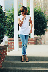Shandrese C - J. Crew Shirt, Madewell Jeans - Sun-kissed