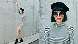Amy Roiland - Pared Au Sunglasses - Put on your Beret and dance