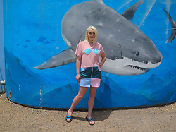 Hipbones and Heartbreak -  - I take her to the aquarium, she says shark
