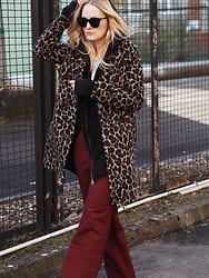 Laenoky - River Island Coat, H&M Hoodie, Ivy&Oak Wide Leg Pants - BACK IN THE HOOD(Y)
