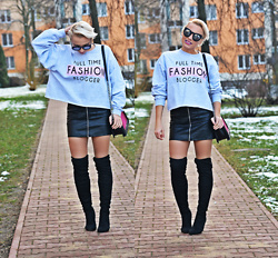 Karina Małecka -  - Full time fashion blogger