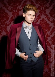 'Olly Rose -  - Smoking jacket at the club