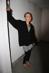 Anna Borisovna - H&M Cardigan, H&M Dress, Citizens Of Humanity Jeans, Zara Sandals - Lazy Look