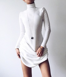 Da Li -  - White Handmade Dress