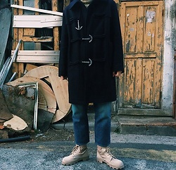 Mushroooooom H - Low Classic Duffle Coat, Plac Jean - ? sand