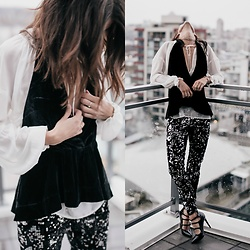 Kiara Schwartz - Express Pants, Express Top - Sparkle Pants Babe