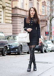Stefanie -  - The knit dress